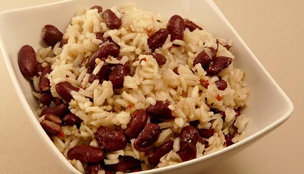 Simple & Gourmand Riz aux haricots rouges